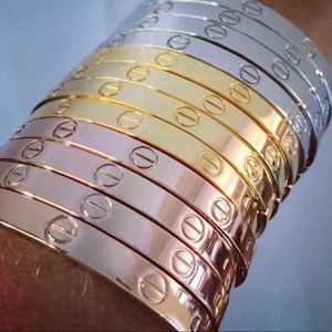 Jewelry - Bundle Set of LOVE SCREW HEAD BANGLE BRACELET CUFF